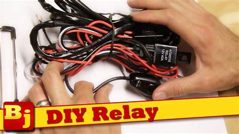 diy led light bar harness      youtube