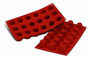 Mini Cannelés Bordelais : moule silicone 18 mini cannel s bordelais colichef ~ Nature-et-papiers.com Idées de Décoration