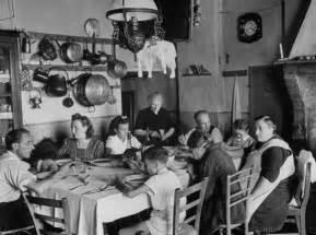 Italian Family Eating Dinner