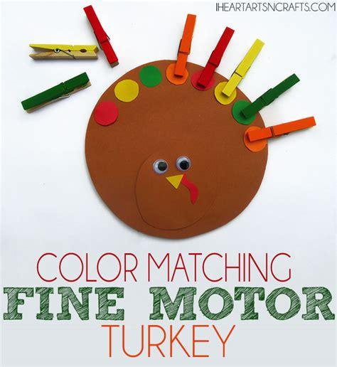 color matching amp motor turkey toddler activity 907 | PinTurkey1