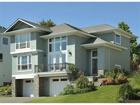 hillside garage plans free home plans hillside garage plans