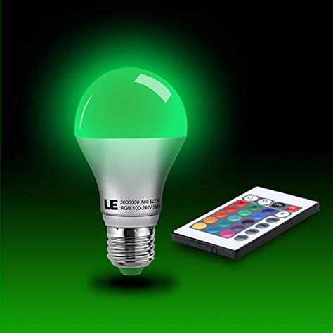 led color changing l le 5w dimmable a60 rgb led bulbs color changing 160