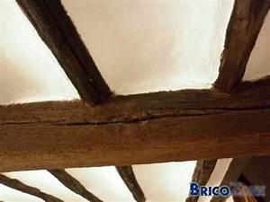 restaurer de vieilles poutres en bois With commentaire peindre une poutre en bois