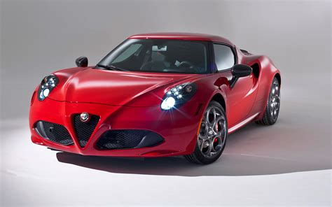 2014 Alfa Romeo 4c Coupe Red