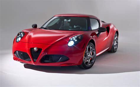 2014 Alfa Romeo 4c Coupe Red  Top Auto Magazine