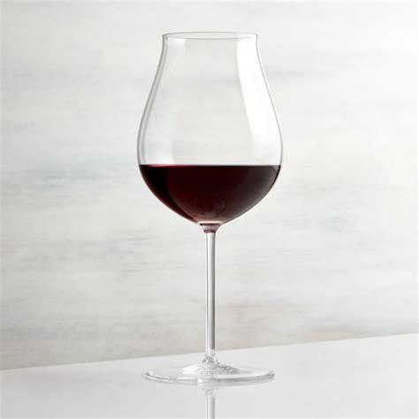 vineyard pinot noir wine glass reviews crate  barrel
