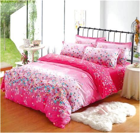 Bedroom Girls Full Size Sheet Set Childrens Bed Linen