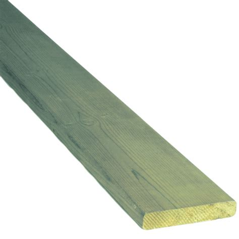 Pressure Treated Deck Boards Rona by Treated Wood Green 5 4 In X 6 In X 12 Ft Rona
