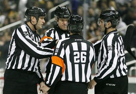 Tonight's Nhl Referees  31714  Scouting The Refs