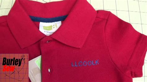 embroider polo shirt template how to hoop and embroider names on a small polo shirt