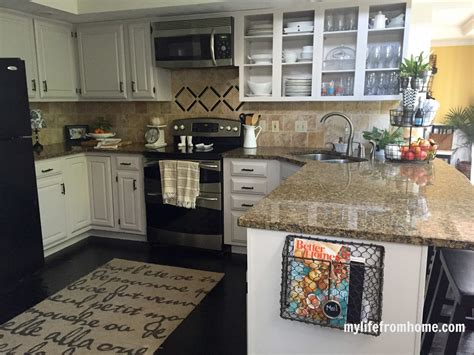 declutter  home tips  keeping  kitchen counters