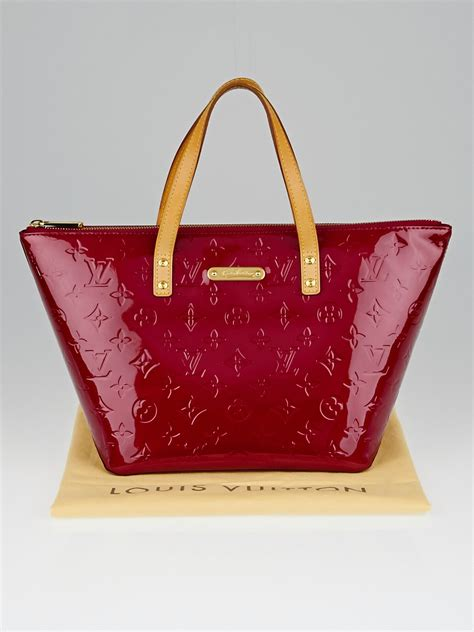 louis vuitton pomme damour monogram vernis bellevue pm