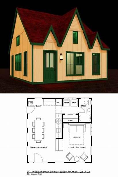 Tiny Plans Floor Building Plan Craft American