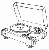 Pioneer Pl Turntable Drawing Table Record Player Turn Template Direct Drive Coloring Vinyl Pages Sketch Engine Plc Getdrawings Vinylengine sketch template