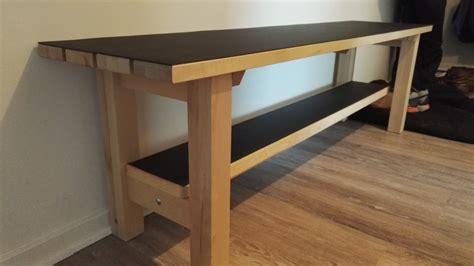 IKEA NORDEN bench upgrade for landing space   IKEA Hackers   IKEA Hackers