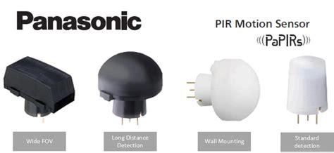 panasonic papirs pir pyroelectric motion sensor corecom