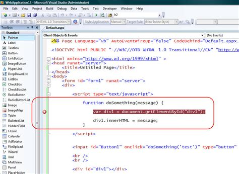 Vs 2008 Javascript Debugging