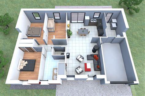 plan des maisons modernes gratuit