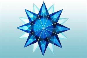 Sterne Zum Basteln : blauer stern 16 zacken sterne aus transparentpapier ~ Lizthompson.info Haus und Dekorationen