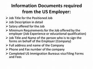 documents and information required for filing h1b visa With documents required to get the passport