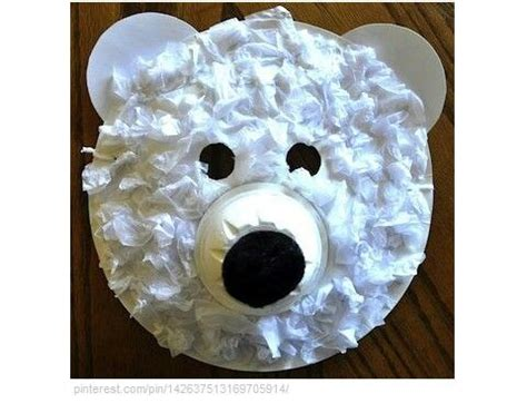 polar bear crafts for preschoolers polar craft kid craft ideas arctic 204
