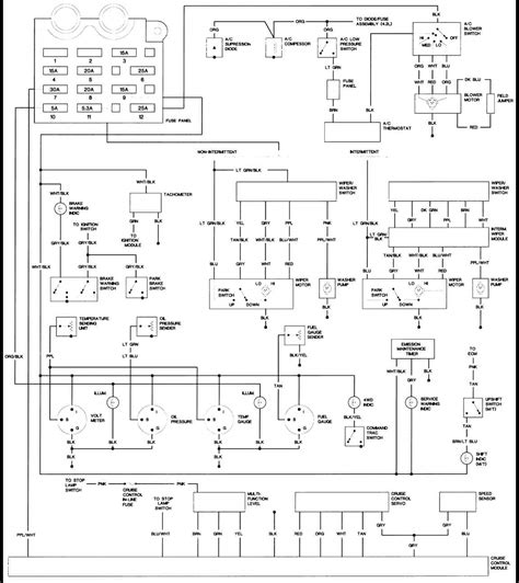 Jeep Wrangler Ac Wiring Diagram by 1988 Jeep Wiring Diagrams Index Freeautomechanic