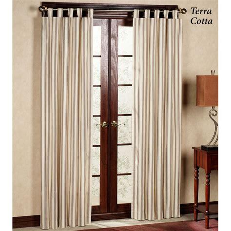 tab valance weathermate stripe thermalogic tm tab top curtains