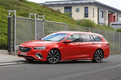 2018 Opel Insignia GSi Wagon Drops Disguise