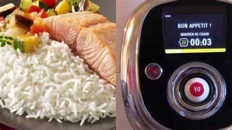 cuisiner le riz comment faire du riz avec le cookéo