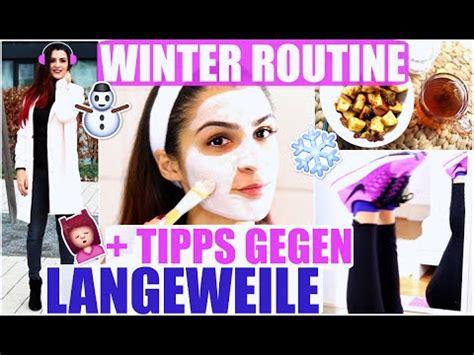 Winter Routine Mein Perfekter Tag + Tipps Gegen Langeweile