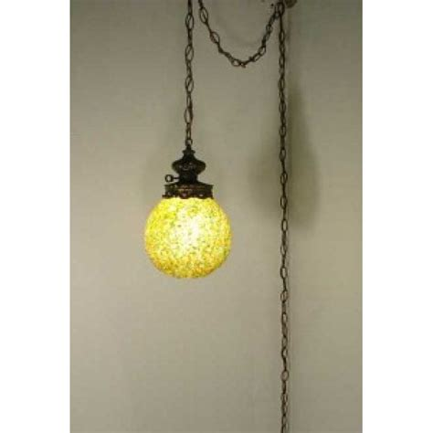 hanging ls for sale retro hanging swag light ceiling moon rock l