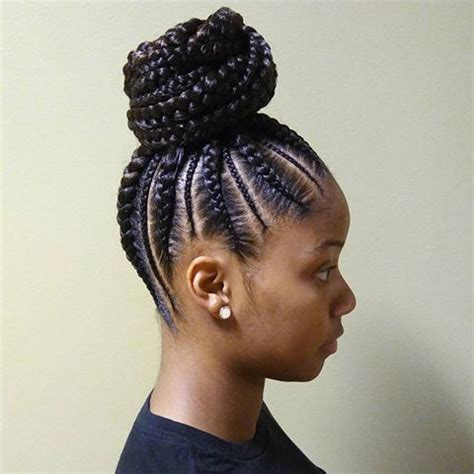 Braided Hairstyles For Black With Hair by 2018 Braided Hairstyle Ideas For Black The Style