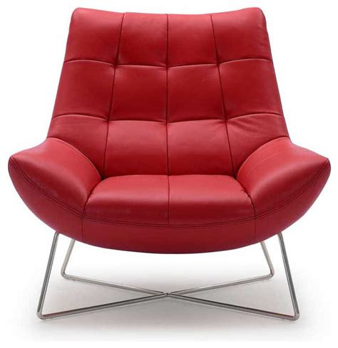 medici tufted leather accent chair contemporary living
