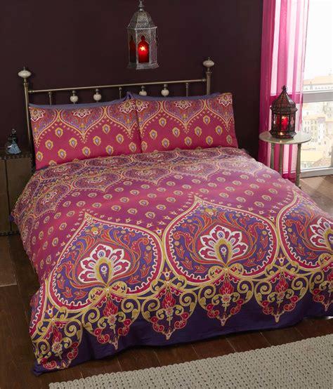 Indian Style Elephant Quilt Duvet Cover & Pillowcase