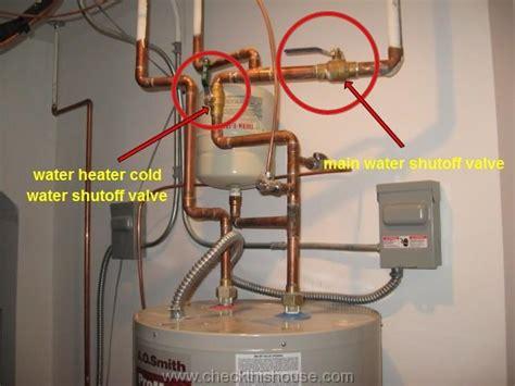 Winterize Water Heater
