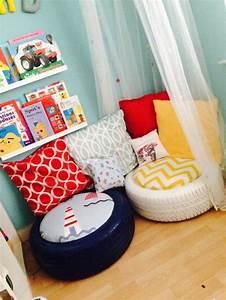 Pouf Chambre Enfant : 1001 tutos cool pour fabriquer un pouf originale ~ Teatrodelosmanantiales.com Idées de Décoration