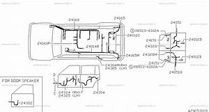 241 - Wiring  Body  For Patrol Y60 Nissan Patrol
