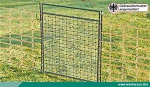 Wie Setze Ich Einen Zaun : toreinbau beim weidezaun ~ Articles-book.com Haus und Dekorationen