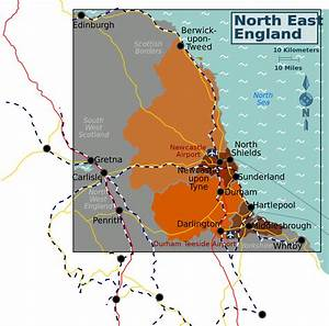File North East England Map Svg