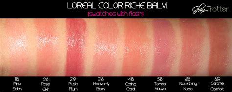 l oreal color riche balm 欧莱雅l oreal保湿润色唇膏3g l or 233 al colour riche balm 118
