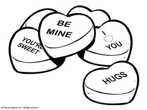 Free free heart shaped coloring pages