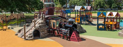 turkey thicket playground center recreation playgrounds train equipment themed dc washington overview featured consultant story