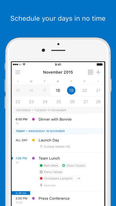 outlook on iphone cool new app microsoft outlook for iphone and
