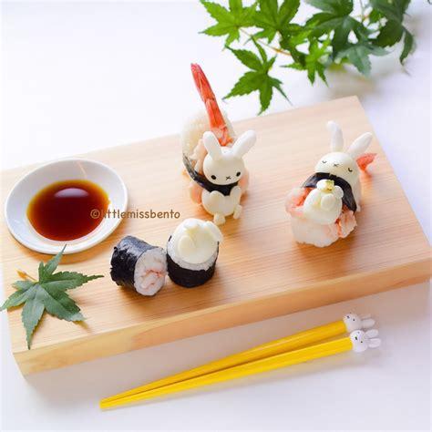 cuisine kawaii kawaii miffy sushi miss bento