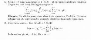 Auflagerreaktion Berechnen : integral integral ungleichungskette riemann mathelounge ~ Themetempest.com Abrechnung