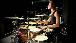 Jun Kung - 愛空間 (Derrick's Drum Cover) - YouTube