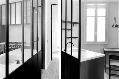 cloison en verre loft appartement haussmannien le travail de nicolas schuybroek frenchy fancy