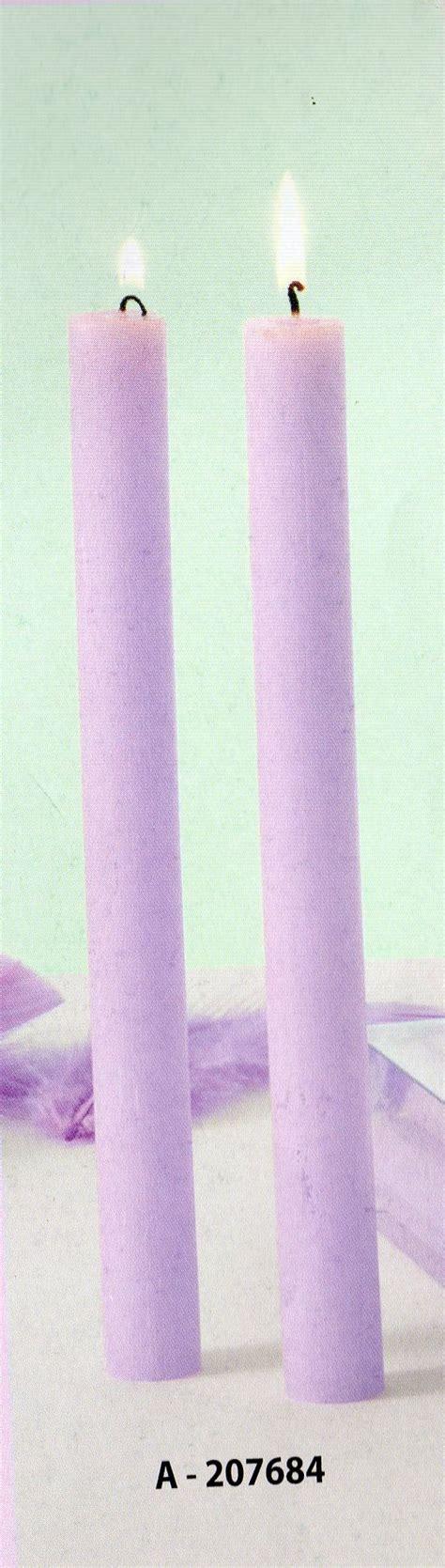 candela stearica candela stearica h 25 confezione 6 pezzi san michele di