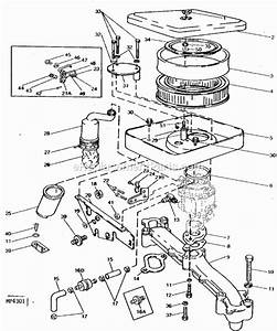 John Deere 318 Mower Deck Parts Diagram