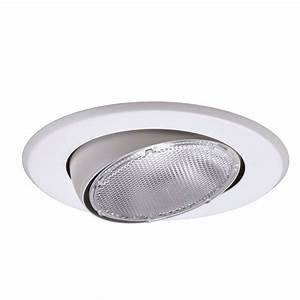 Recessed lighting trim sizes : Recessed light trim home depot white lighting